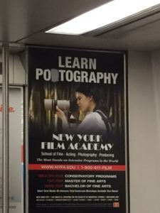 long island railroad advertisement that inspired potography