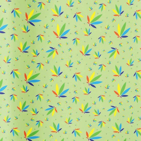 Wasabi Gift Wrap, Wasabi Colorleaf Gift Wrap, cannabis gift wrap, cannabis wrapping paper, wasabi potography gift wrap colorleaf pattern mockup