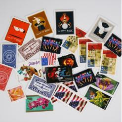 forever stamps assortment multiple designs