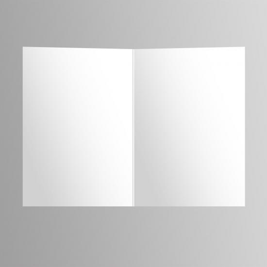 blank inside of potography cannabis art greeting card