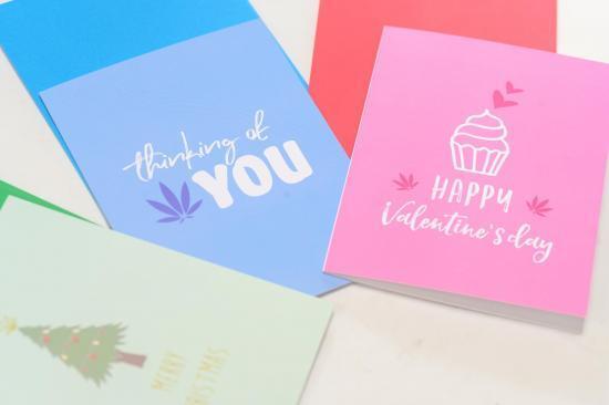 Holiday Cannabis Cards Variety Pack - holiday cards catalog