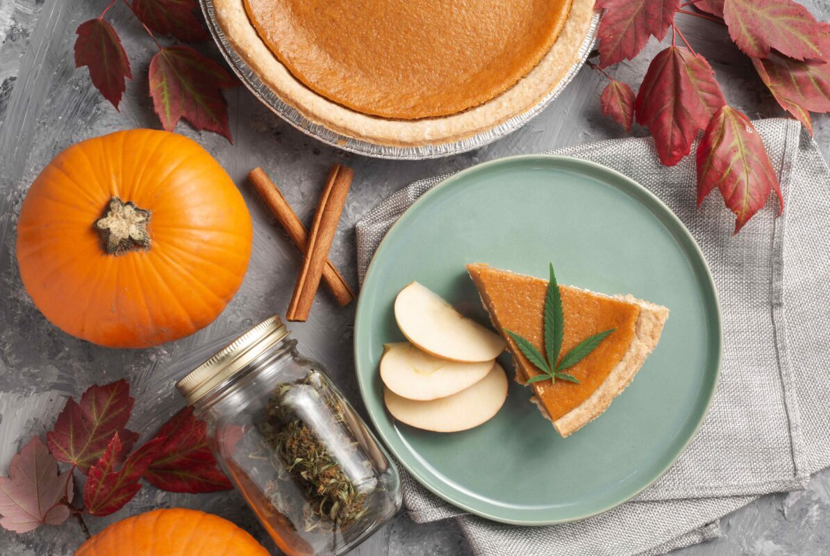 october-2020-photo-contest-featured-image-of-pumpkin-pie-and-cannabis-leaf
